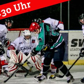 Heimspielauftakt gegen Uni Eishockey Bayreuth